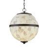 This item: Alabaster Rocks! - Imperial Brushed Nickel 17-Inch Four-Light LED Chandelier