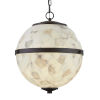 This item: Alabaster Rocks! - Imperial Dark Bronze 25-Inch Eight-Light LED Chandelier