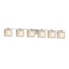 This item: Alabaster Rocks Era Brushed Nickel Six-Light Bath Vanity