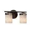 This item: Alabaster Rocks! - Atlas Polished Chrome Two-Light LED Bath Bar with Cylinder Flat Rim Alabaster Rocks Shade