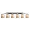 This item: Alabaster Rocks Archway Brushed Nickel Six-Light Bath Vanity