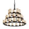 This item: Alabaster Rocks Dark Bronze 36-Light LED Chandelier