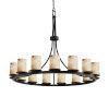 This item: Alabaster Rocks Matte Black 15-Light LED Chandelier