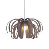 This item: Bohemia - Danubio Polished Chrome 28-Inch LED Chandelier with Frosted Smoke
