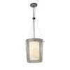 This item: Clouds Polished Chrome One-Light Pendant