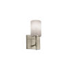This item: Clouds Union Brushed Nickel One-Light Cylinder Wall Sconce