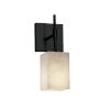 This item: Clouds Matte Black One-Light Wall Sconce