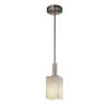 This item: Clouds Brushed Nickel One-Light Mini Pendant