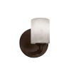 This item: Clouds Bronx Dark Bronze One-Light Wall Sconce