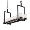 This item: Clouds Matte Black 14-Light LED Chandelier