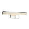 This item: Clouds - Elevate Dark Bronze 20-Inch LED Linear Bath Bar