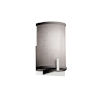 This item: Textile Century Polished Chrome and Gray One-Light Wall Sconce