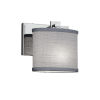 This item: Textile Era Polished Chrome and Gray LED Wall Sconce