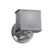 This item: Textile Bronx Polished Chrome and Gray LED Wall Sconce