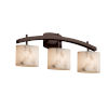 This item: LumenAria Archway Dark Bronze Three-Light LED Bath Vanity