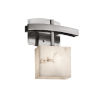 This item: LumenAria Archway Brushed Nickel One-Light Wall Sconce