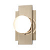 This item: Fusion Brushed Brass LED Wall Sconce