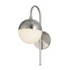 This item: Fusion Ion Brushed Nickel One-Light Wall Sconce