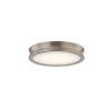 This item: Fusion Bevel Brushed Brass LED Flush Mount