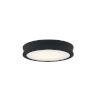 This item: Fusion Bevel Matte Black LED Flush Mount