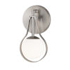 This item: Fusion Brushed Nickel One-Light Wall Sconce
