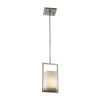 This item: Fusion Brushed Nickel LED Mini Pendant with Opal Glass