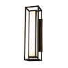This item: Fusion Dark Bronze Two-Light LED Outdoor Wall Mount