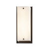 This item: Fusion Dark Bronze LED Outdoor Wall Mount