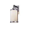 This item: Fusion Brushed Nickel One-Light Outdoor Wall Mount