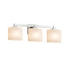 This item: Fusion Regency Polished Chrome Three-Light LED Bath Vanity