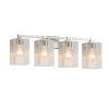 This item: Fusion Regency Brushed Nickel Four-Light LED Bath Vanity