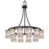 This item: Veneto Luce Matte Black 12-Light LED Chandelier