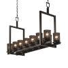 This item: Wire Mesh Dakota Matte Black 14-Light Chandelier