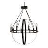 This item: Orbit Dark Bronze Eight-Light Chandelier