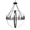 This item: Orbit Dark Bronze 12-Light Chandelier