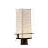 This item: Porcelina Dark Bronze LED Outdoor Post