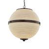 This item: Porcelina - Imperial Dark Bronze 17-Inch Three-Light LED Chandelier