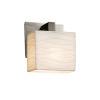 This item: Porcelina Modular Brushed Nickel LED Wall Sconce
