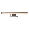 This item: Porcelina - Elevate Dark Bronze 30-Inch LED Linear Bath Bar