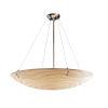 This item: Porcelina Brushed Nickel Eight-Light Pendant