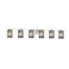 This item: Wire Glass Polished Chrome Six-Light LED Bath Vanity