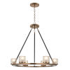 This item: Library Library Brass Six-Light LED Chandelier