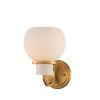 This item: Ascher Winter Brass One-Light Wall Sconce