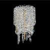 This item: Tenuta Polished Chrome Two-Light Wall Sconce with Firenze Crystal