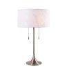 This item: Stowe Antique Brass Two-Light Accent Table Lamp