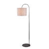 This item: Gloria Bronze One-Light Shaded Floor Lamp
