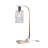 This item: Maguire Antique Brass and Faceted Clear Glass One-Light Desk Lamp