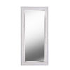 This item: Warren Distressed White Wood Full Length Mirror