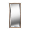 This item: Ellory Champagne and Black Full Length Mirror