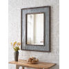 This item: Westbend Galvanized and Distressed Wood Wall Mirror